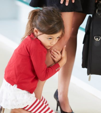 Mummy it is time to go back to work – what do you do?