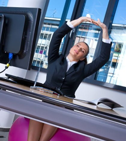 Pilates In The Office