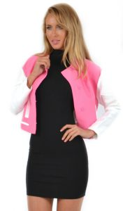 Miss Holly Pink Bomber_RRP$69.00